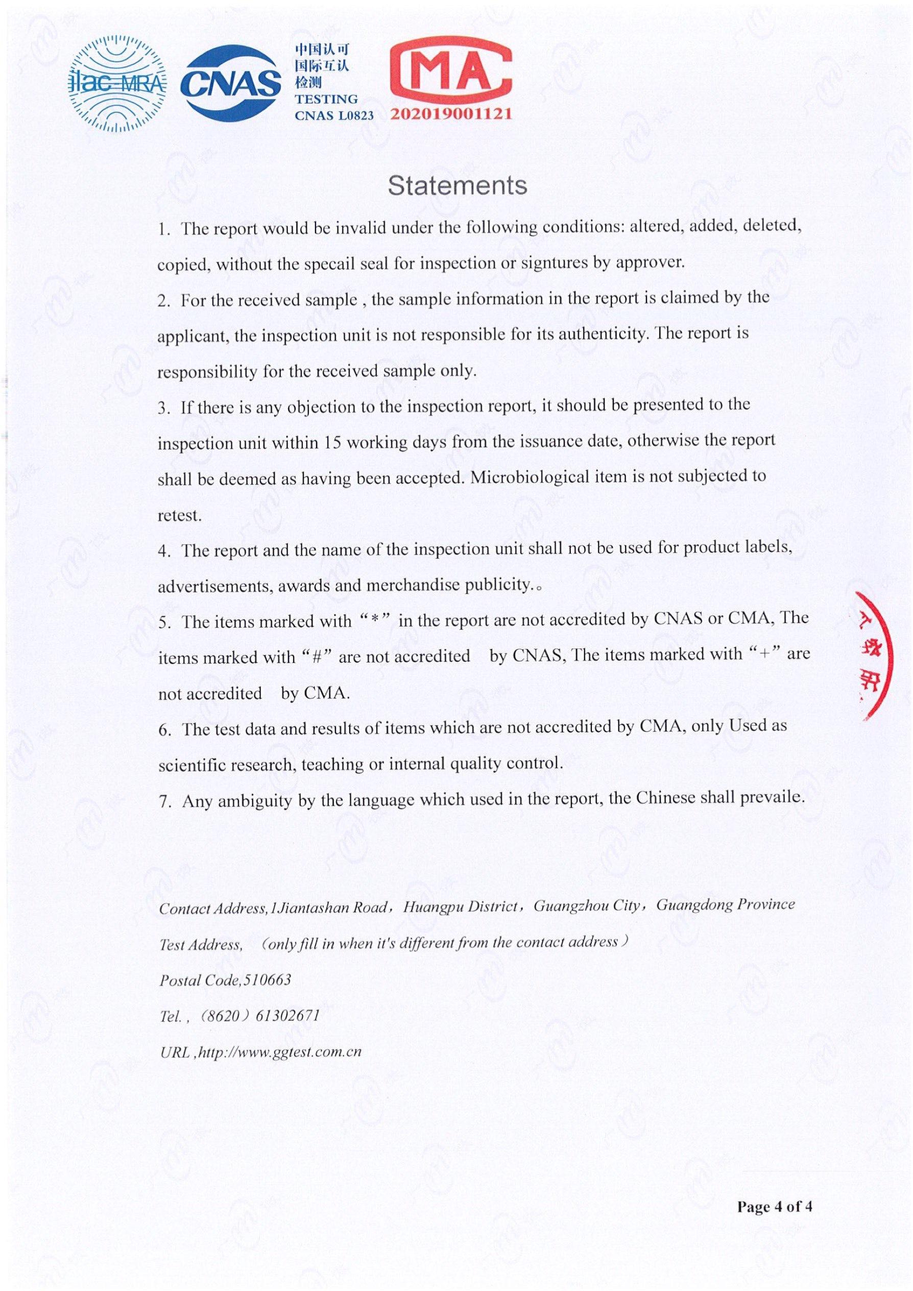 chứng chỉ test QU2 3